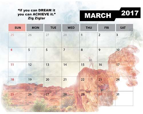 calendar portfolio